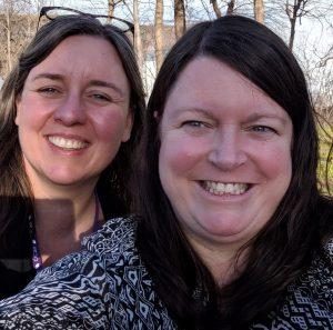 Carrie Nolan & Karen McMurray at CICAN 2019