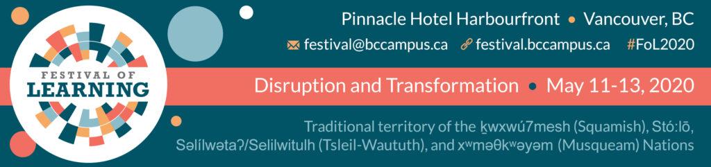 Festival of Learning banner