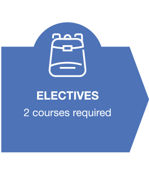 Electives - 2 courses required