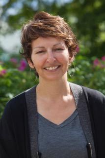 Sharon Hobenshield smiling outside in the sun